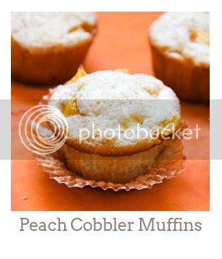 """""""Peach Cobbler Muffins"""""""
