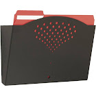 Safco - Wall file pocket - Letter - black
