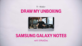 T-Mobile Samsung Galaxy Note 8 Gets Hand-Drawn Unboxing | Androidheadlines.com