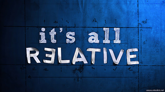 It's all relative  - IndusWealth
