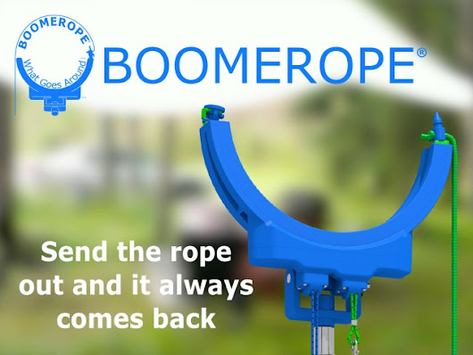 Boomerope:  The Rope-Threading Tool