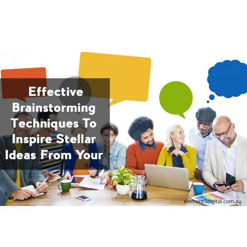 Effective Brainstorming Techniques To Inspire Stellar Ideas From Your Team.