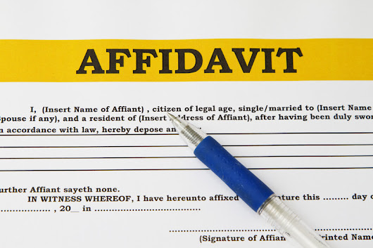 Financial Affidavit/ Mandatory Disclosure Rule in Family Law
