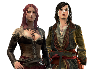 Las piratas Anne Bonny y Mary Read  en Assassin's Creed: Black Flag