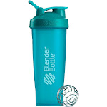 Blenderbottle Classic 32oz Shaker Bottle - Teal, Blue