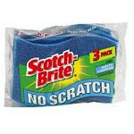 Scotch-brite Mp-3 Multi-purpose No Scratch Scrubbing Sponge, 3-pack