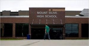 Mount Olive Schools Ban the D - It's C or Flunk