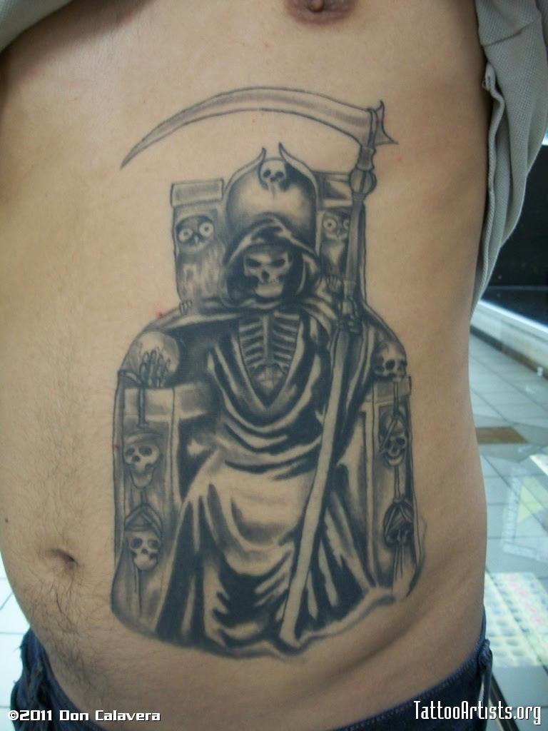 Tatuajes De La Santa Muerte Tattoomagz