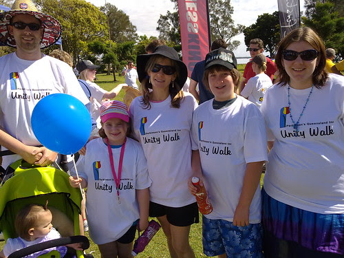 Parkinson's Qld Unity Walk