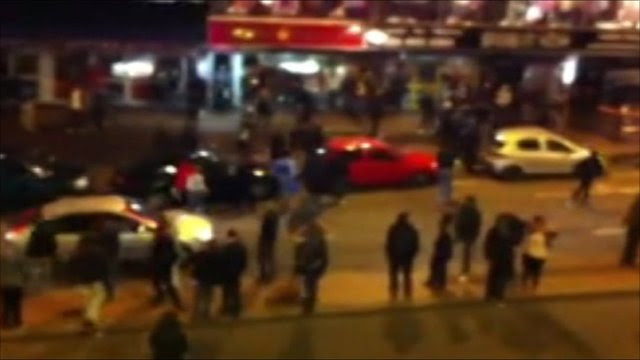Police and rioters 'played cat and mouse' in Birmingham