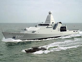 """Патрульный корабль типа """"Голландия"""". Фото с сайта damennaval.com"""