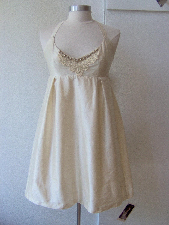 hollystalder fairest of them all - silk taffeta wedding dress