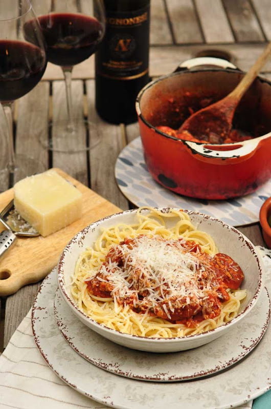 Paolozzi Meat Sauce: A traditional Italian Sunday Sauce Recipe From Nonna