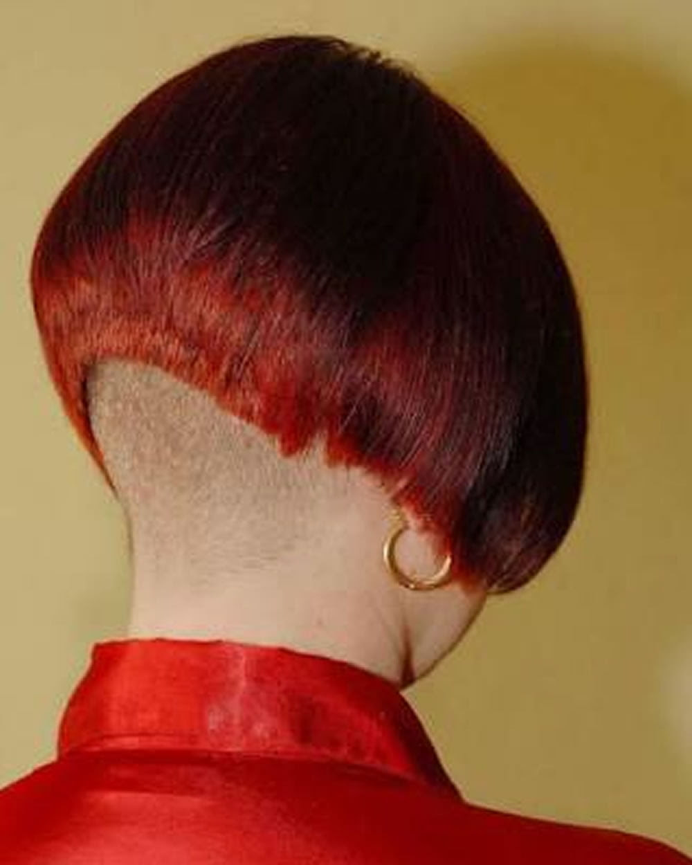 Extreme Nape Shaving Bob Haircuts Hairstyles for Women