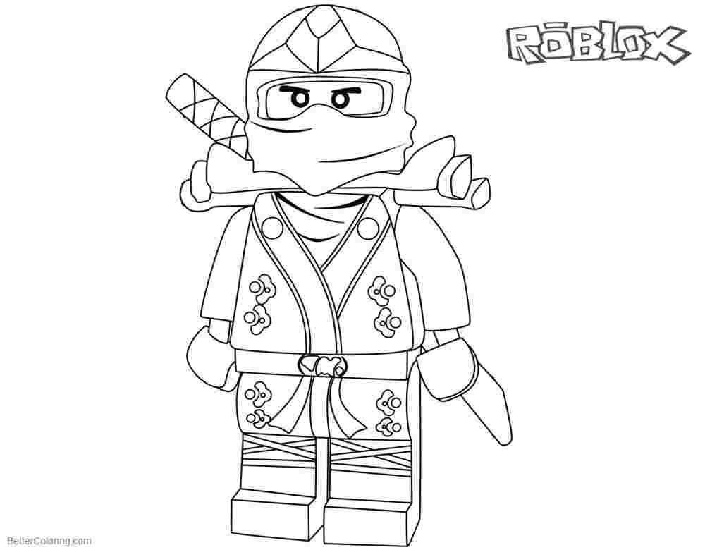 Roblox Coloring Pages Gallery - Whitesbelfast