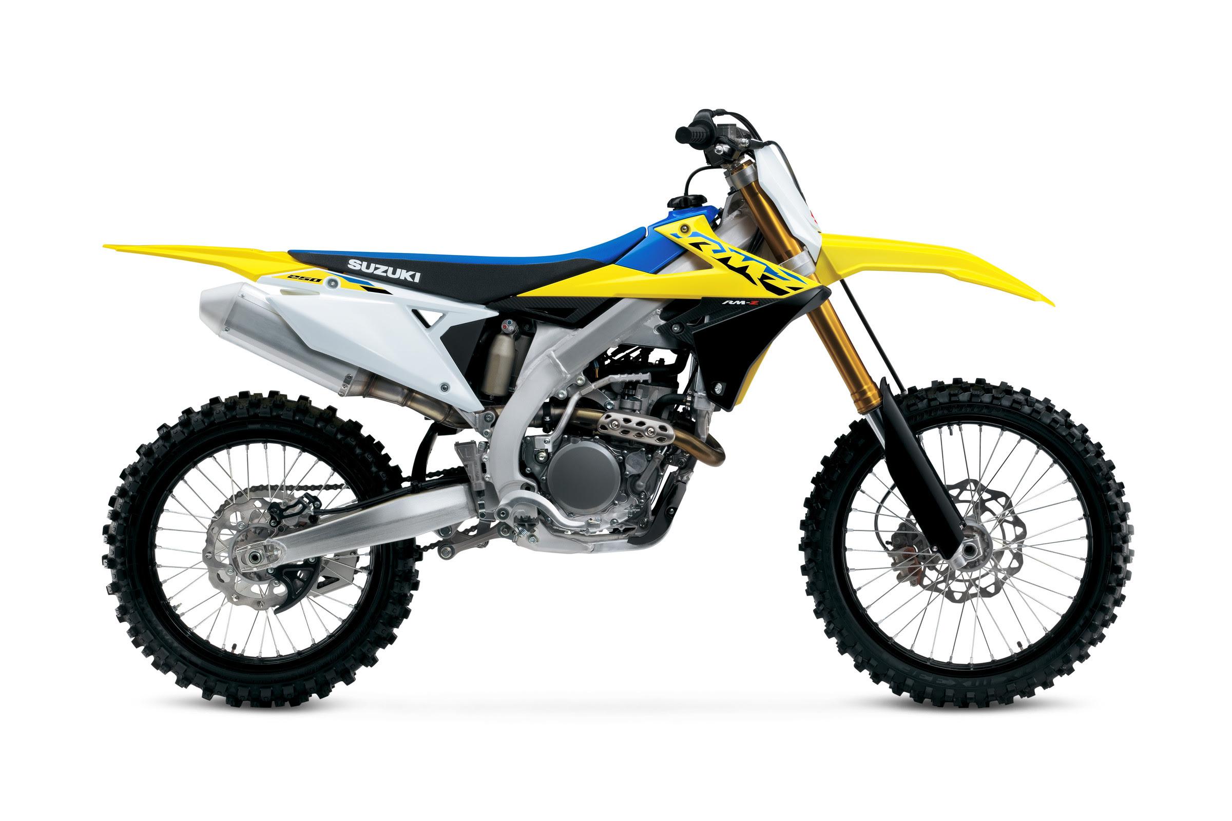 2022 Suzuki RM-Z450 and RM-Z250 Motocross Models