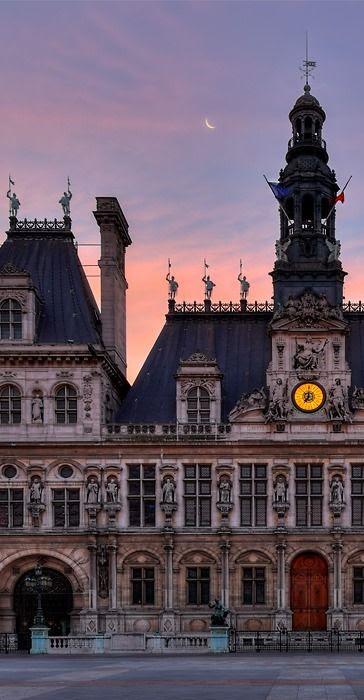 Hotel de Ville de Paris, France