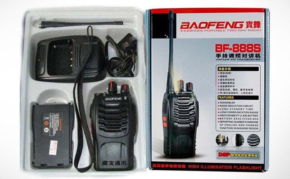 MURAH Berkualitas Radio Ht Handy Talkie Walky Talky Baofeng Bf888S Headset
