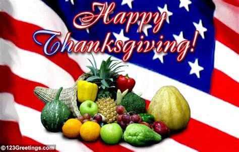 All American Thanksgiving! Free Family eCards, Greeting