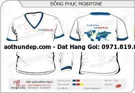 đồng phục nhân viên mobifone