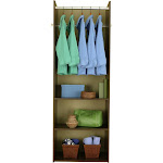 Easy Track RV1472-T Hanging Tower Closet, Truffle, 72-inch