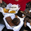 The Trough BBQ Food Challenge at Bull's Smokin BBQ | I Bet You Won't