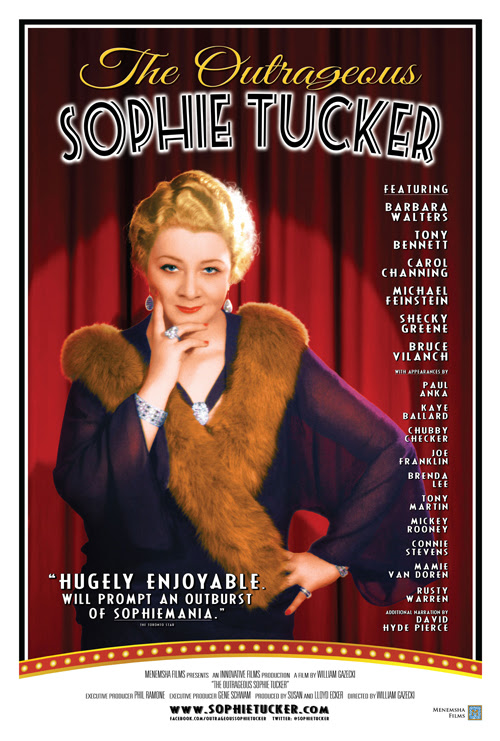 The Outrageous Sophie Tucker - She Blogged By Night