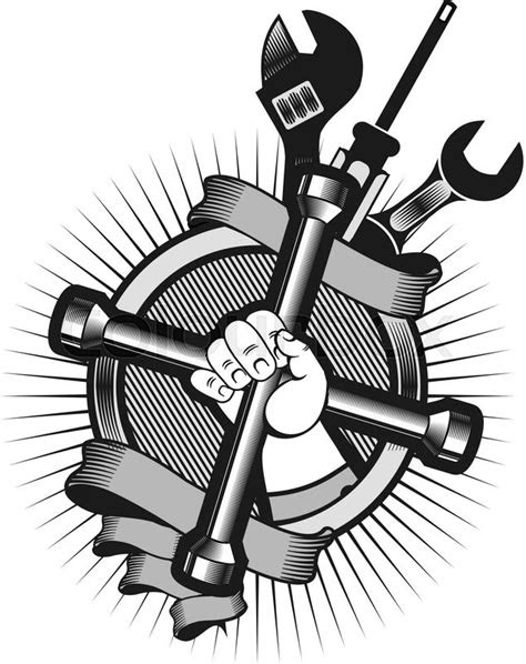 Mechanic Tools Drawing at GetDrawings.com | Free for