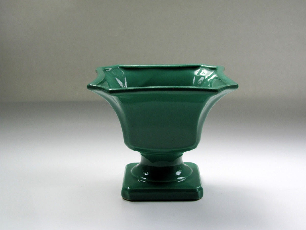 Vintage Jade Green Planter