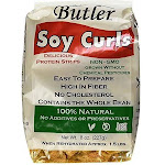 Butler Foods Soy Curls, 8 oz