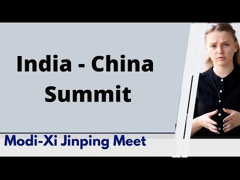 India China Summit by Karolina Goswami