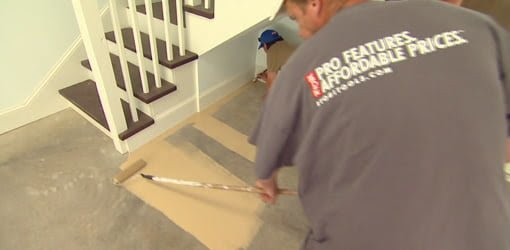 Options to Improve the Look of a Garage Floor  Today's Homeowner Video Channel