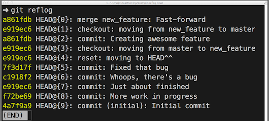 How to undo (almost) anything with Git