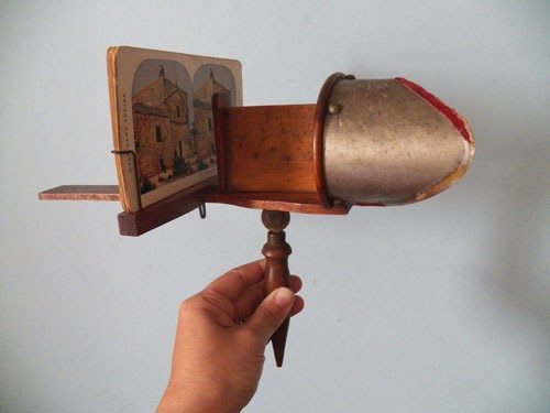 how to make a vintage style stereoscope