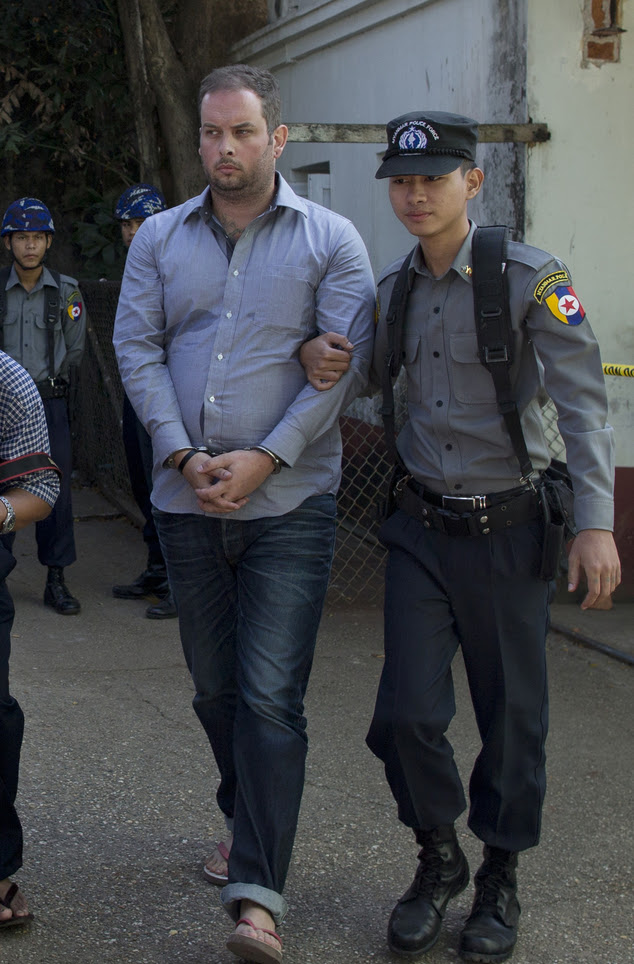 New Zealand man Philip Blackwood has been accused by Myanmar of insulting religion
