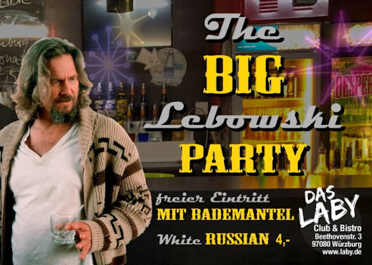 The Big Lebowski Party
