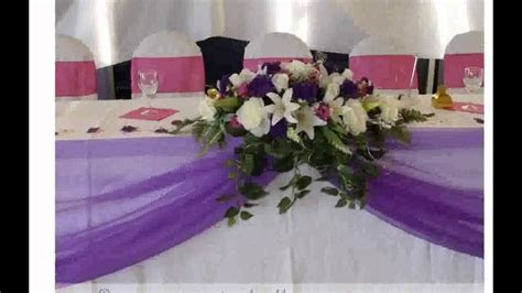 Wedding Decoration Ideas for Tables   YouTube