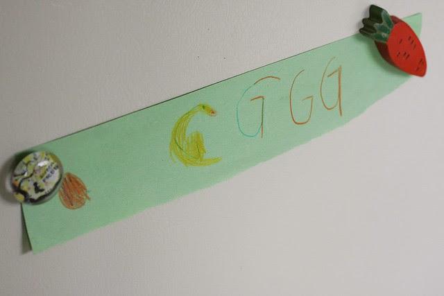 Golden Goose (G) Waldorf Alphabet