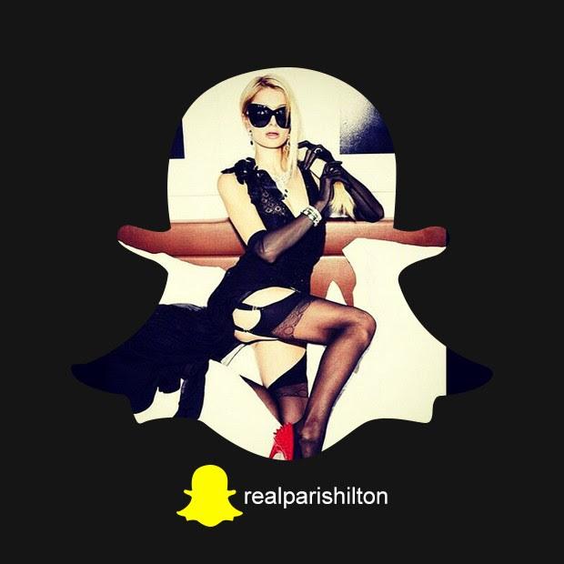 Snapchat Paris Hilton (Foto: QUEM)