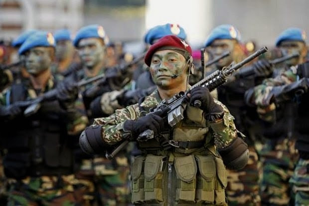 malaysian-forces