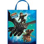How to Train Your Dragon 3 Tote Bag 13x11in