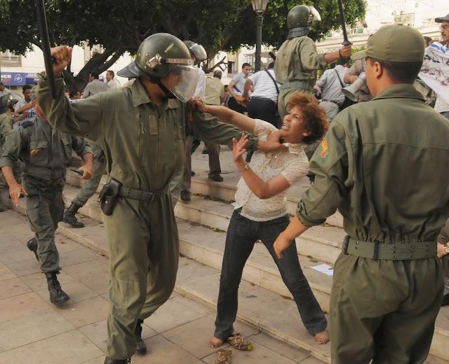 Marruecos : Un régimen despótico y represivo