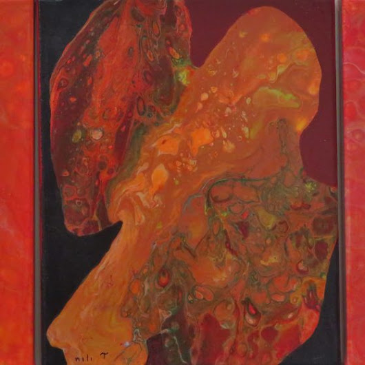 Translucent layered paintings | Nili Tochner's Art Gallery