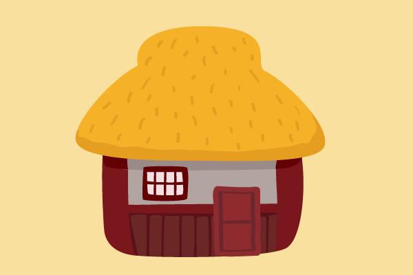 昔話の家 街建物系イラスト専門サイトtown Illust