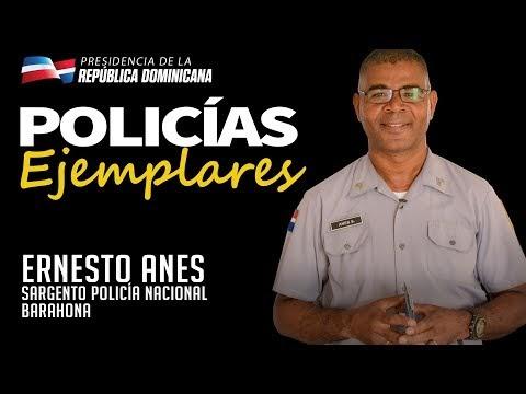 VIDEO: Policías Ejemplares. Sargento Ernesto Anes