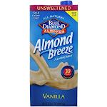 Blue Diamond Growers Almond Breeze Almond Milk Unsweetened Vanilla 32 fl oz
