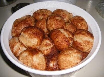 Monkey Bread Balls Risen