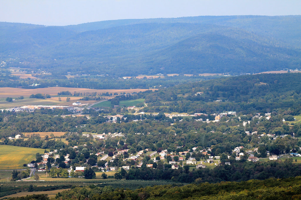 Rouzerville Pa View From High Rock Overlook Near Pen