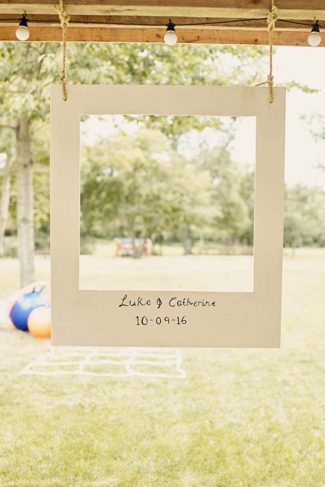 Polaroid style Wedding photobooth - www.helloromance.co.uk
