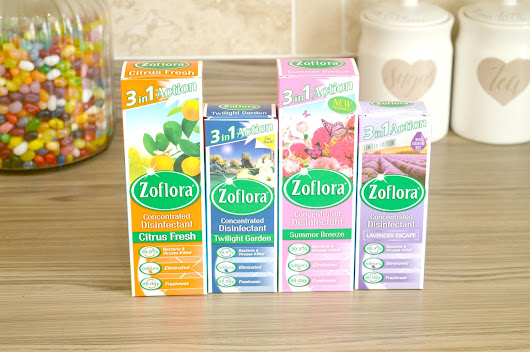 4 Really Exciting Zoflora Scents I Tested Recently This Month